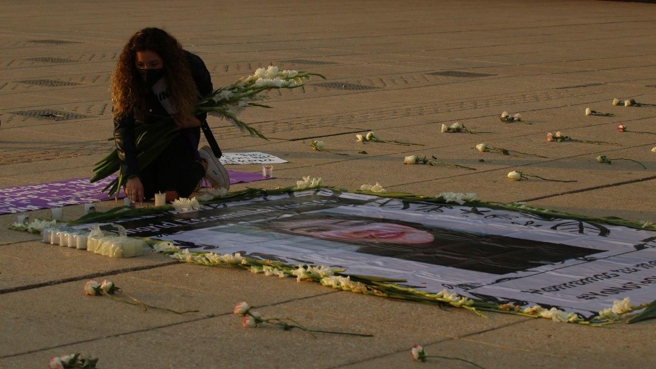 Recuerdan Ingrid Escamilla a un año de su feminicidio