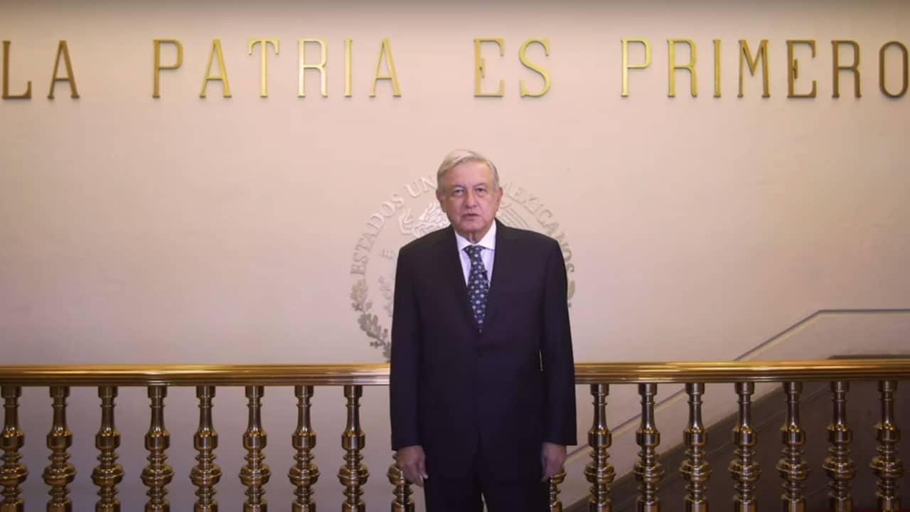 Andrés Manuel López Obrador (AMLO), presidente de México, reveló en un video que dio negativo a la prueba de COVID-19