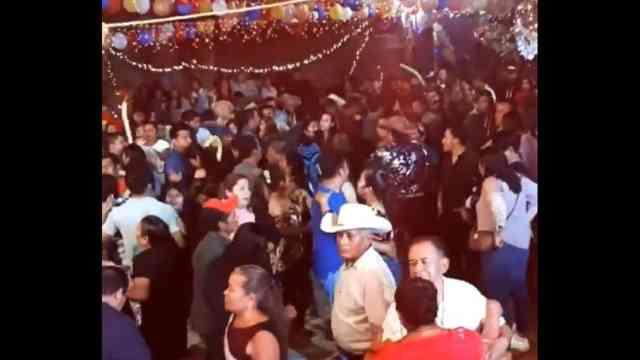 Baile San Juan del Río Choápam brote COVID-19