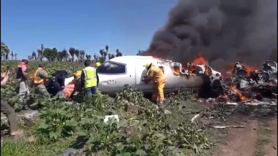cae avión Veracruz