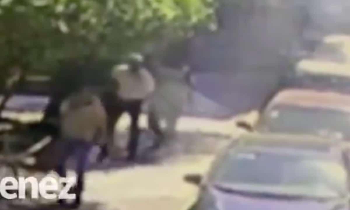 Video: En 30 segundos asesinan a un hombre en la Colonia Doctores