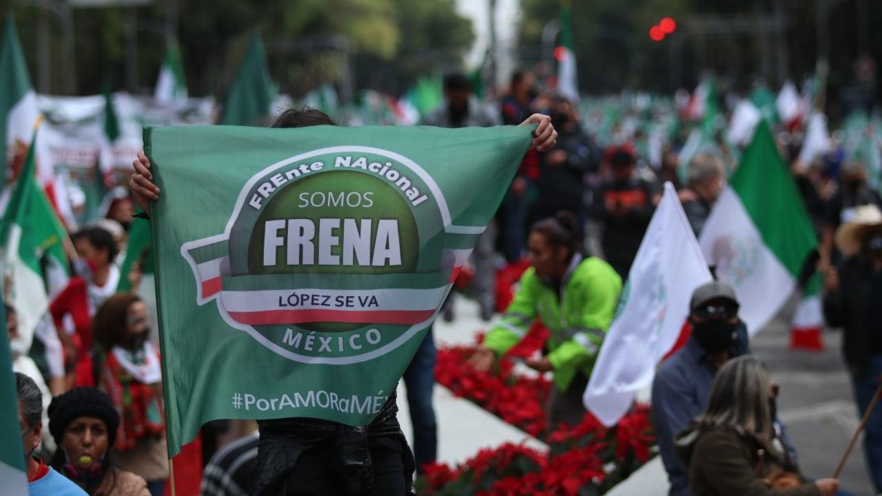 FRENAAA llama a hacer juicio ciudadano contra AMLO por 'traición a la patria'