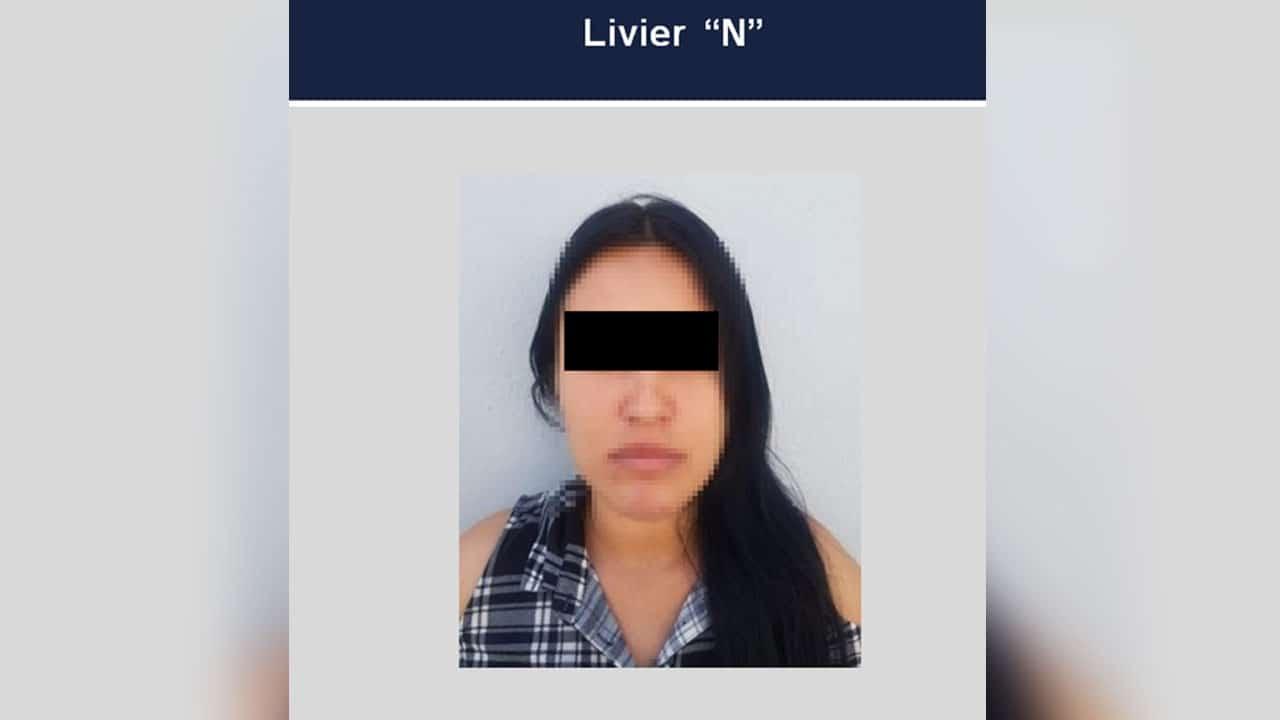 En Jalisco, detuvieron a Livier por el abuso sexual infantil cometido en perjuicio de su sobrino menor de edad