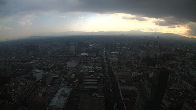 Llueve en al menos 8 alcaldías de la Ciudad de México