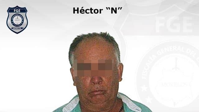 En Morelos, Héctor fue detenido tras ser acusado de abuso sexual tras ofrecerle a una menor un celular o una computadora a cambio de sexo