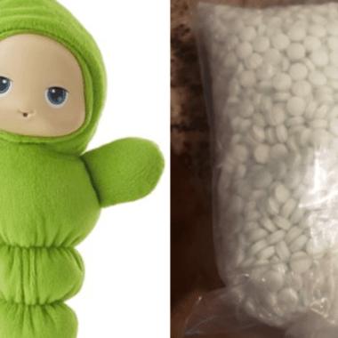 Familia compró muñeca para su hija; hallaron 5 mil píldoras de fentanilo en interior