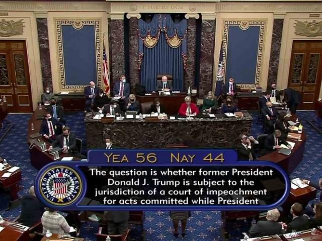 segundo juicio político Donald Trump