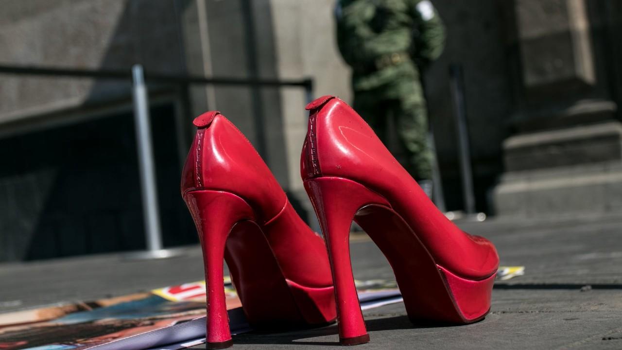 zapatos rojos Morelia justicia feminicidio Jessica