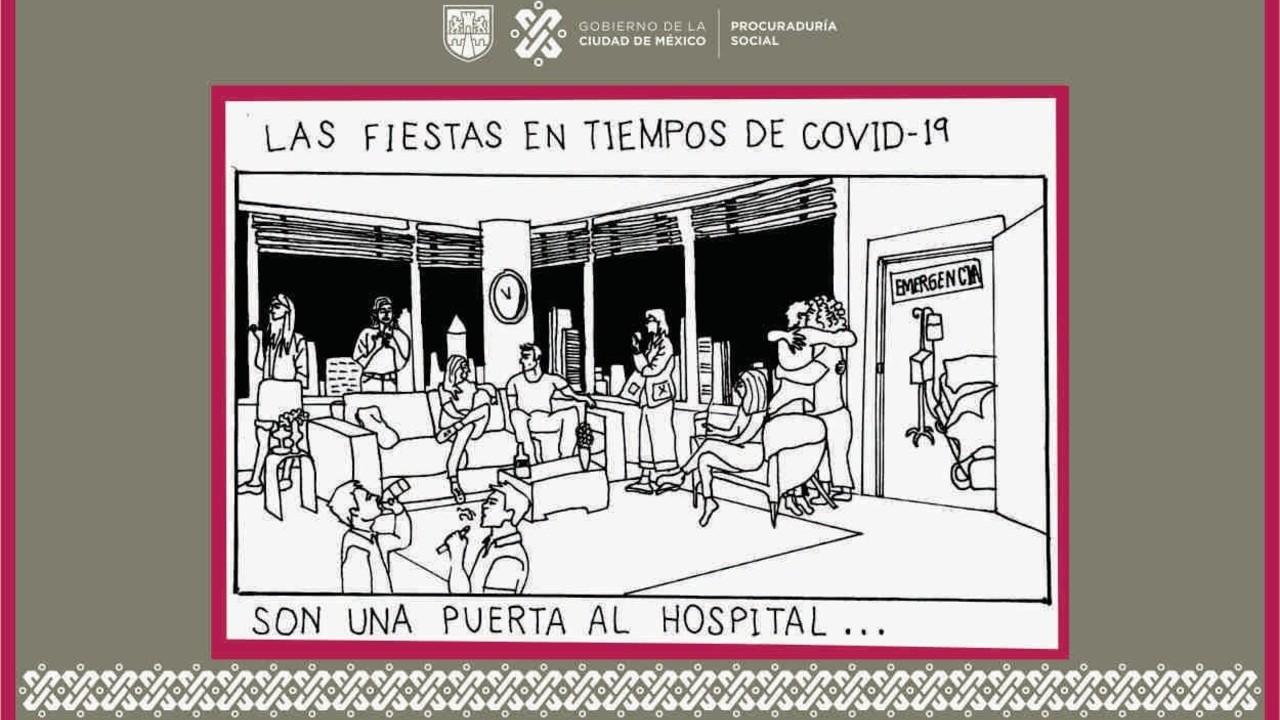 Denunciar fiestas COVID-19 CDMX