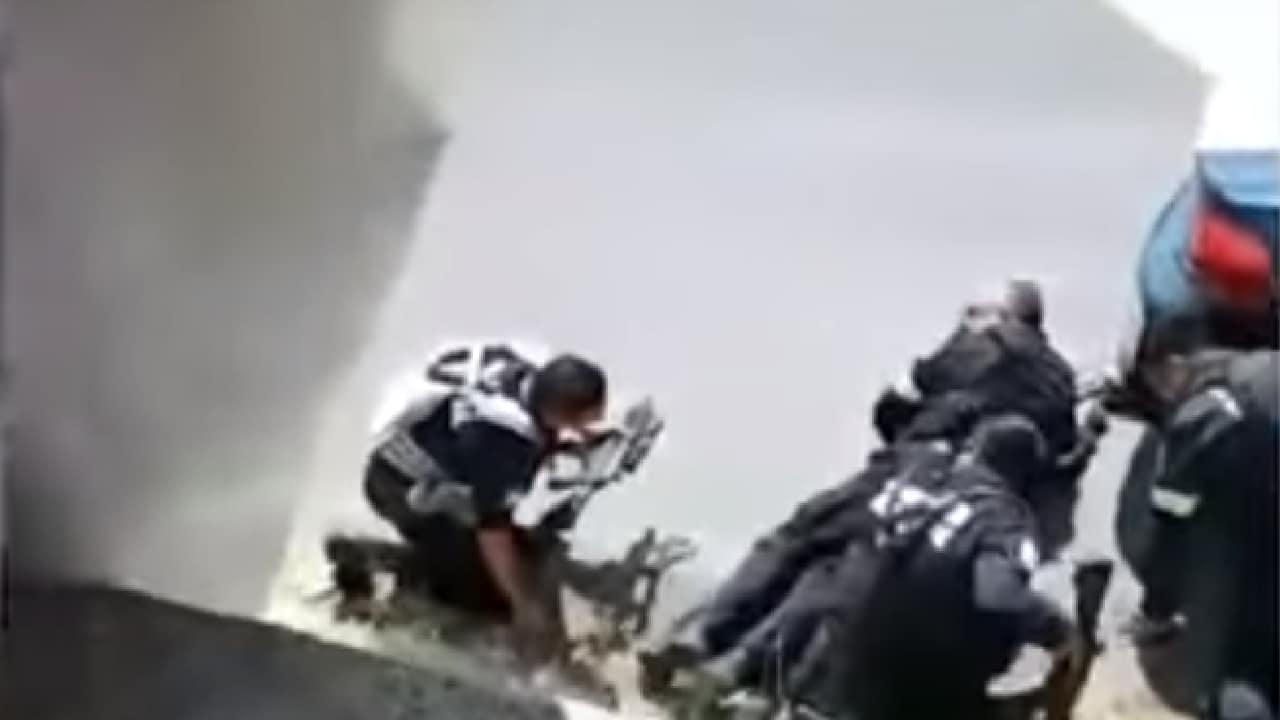 Videos emboscada a policías Coatepec Harinas