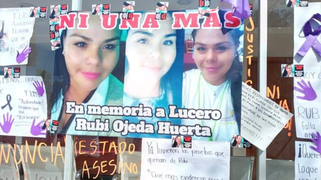 Feminicidio Rubí denunció expareja por mil 500 lo dejaron ir, volvió y la mató
