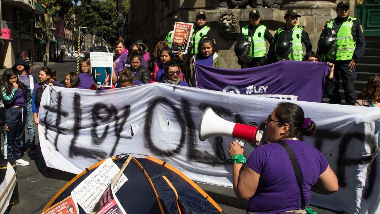Feministas apoyo aprobación Ley Olimpia CDMX