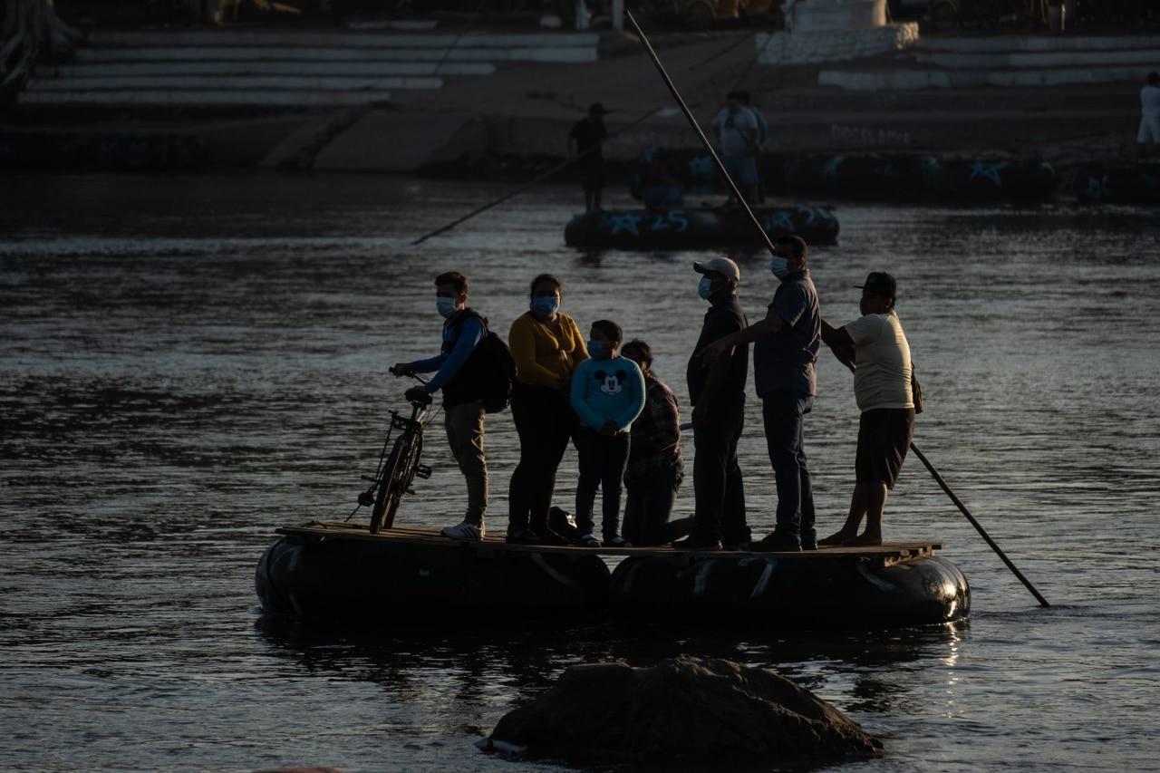 Migrantes Suchiate Chiapas