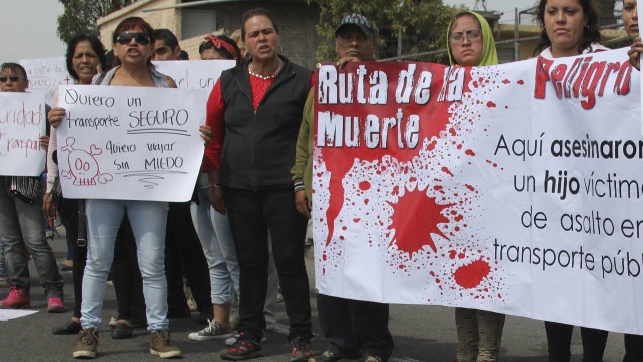 Colonias más inseguras del Estado de México