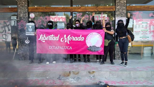 Marcha feminista Ixtapaluca