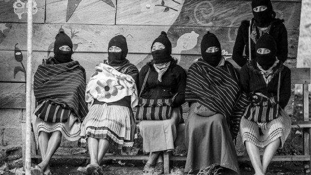 Mujeres indígenas zapatistas escribieron un poema para todas las mujeres que han muerto por la violencia de género.