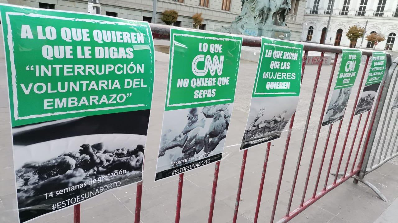Opositores Aborto Chile Cámara de Diputados