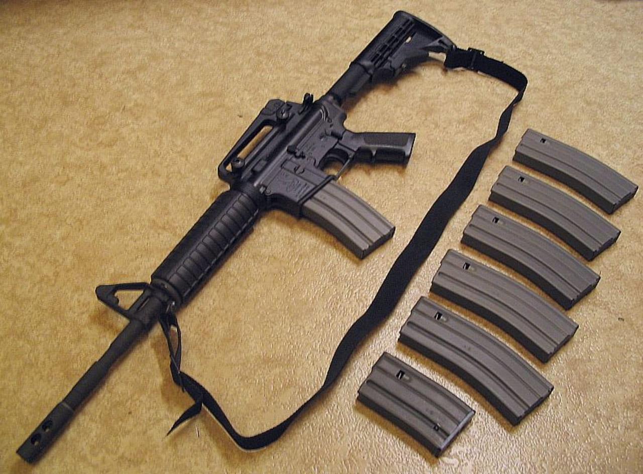 rifle de asalto bushmaster