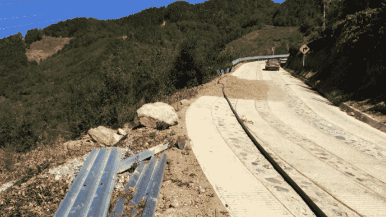 carreteras dañadas oaxaca