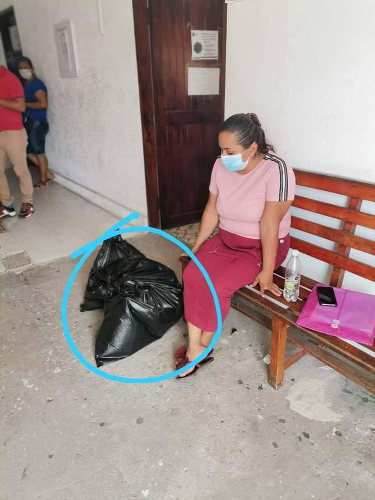 Fiscalía Veracruz entrega restos en bolsas