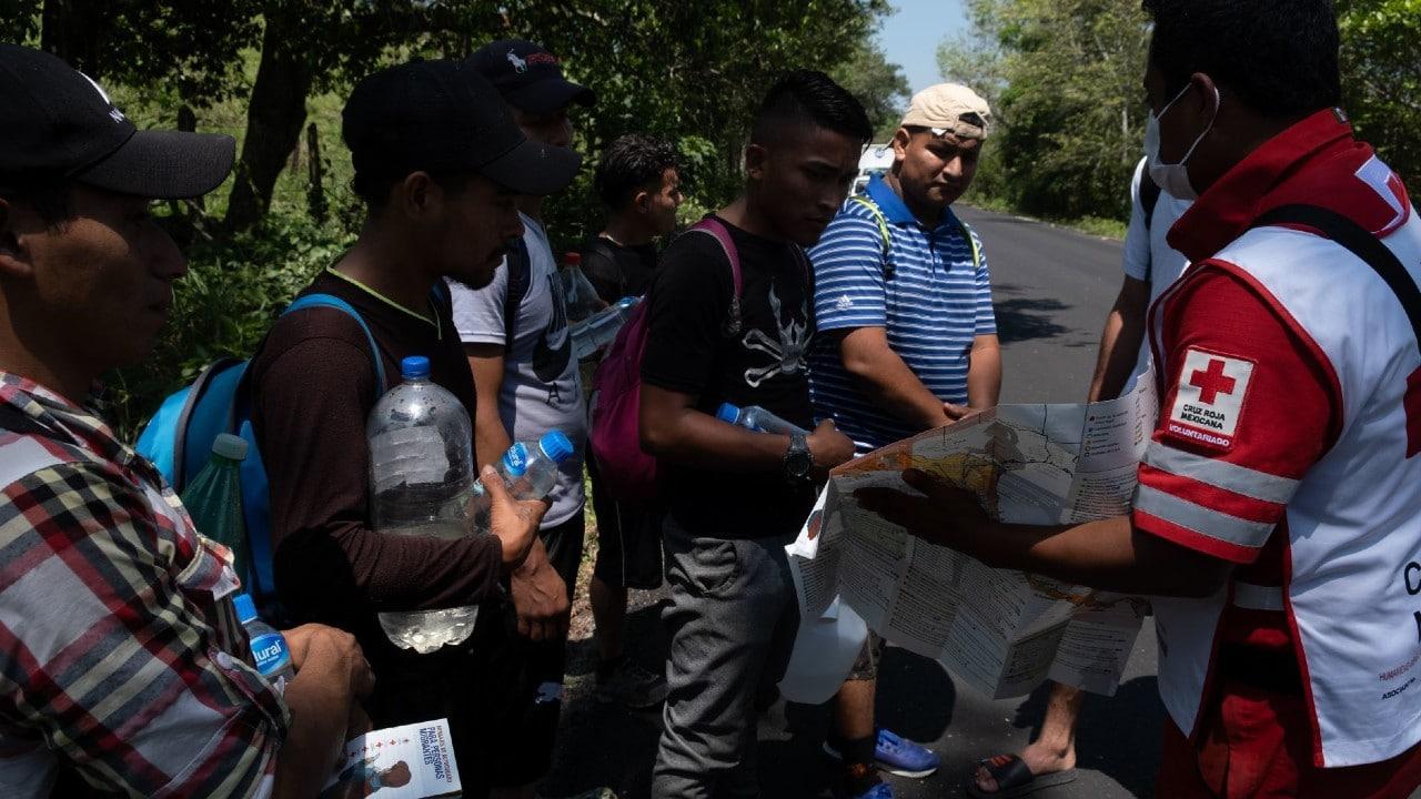 Narcotráfico Coloca Brazaletes Migrantes Cobran Cuotas