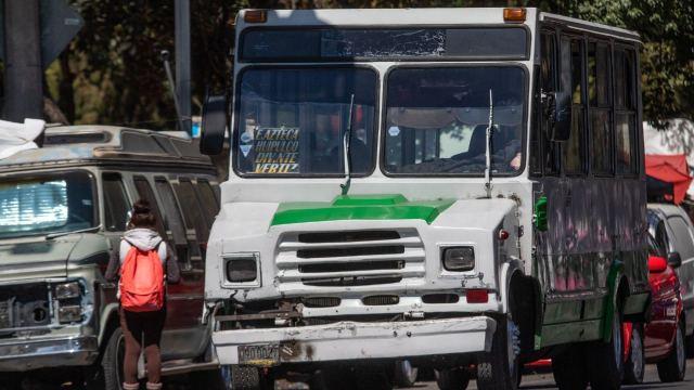 Transportistas nuevos bloqueos CDMX aumento pasaje
