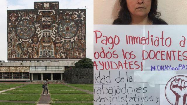 Por qué la UNAM no está pagando a los maestros