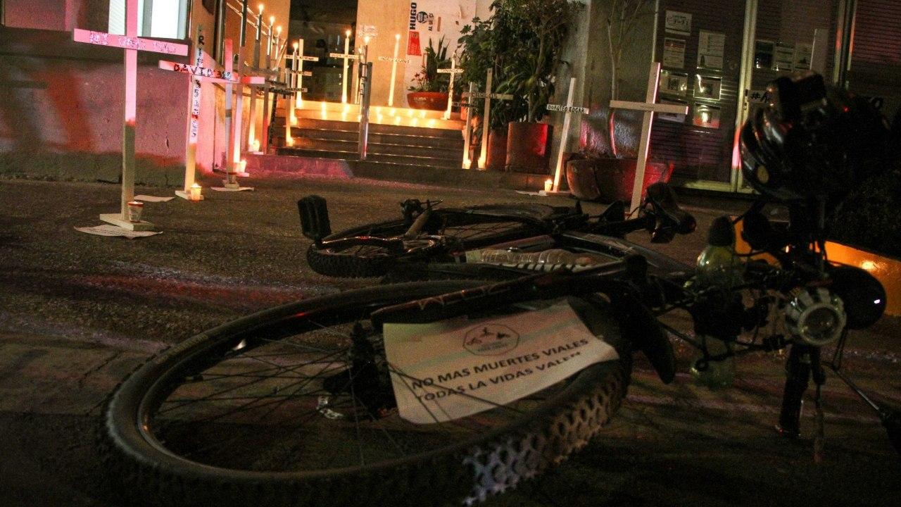 Avenidas más peligrosas para ciclistas CDMX