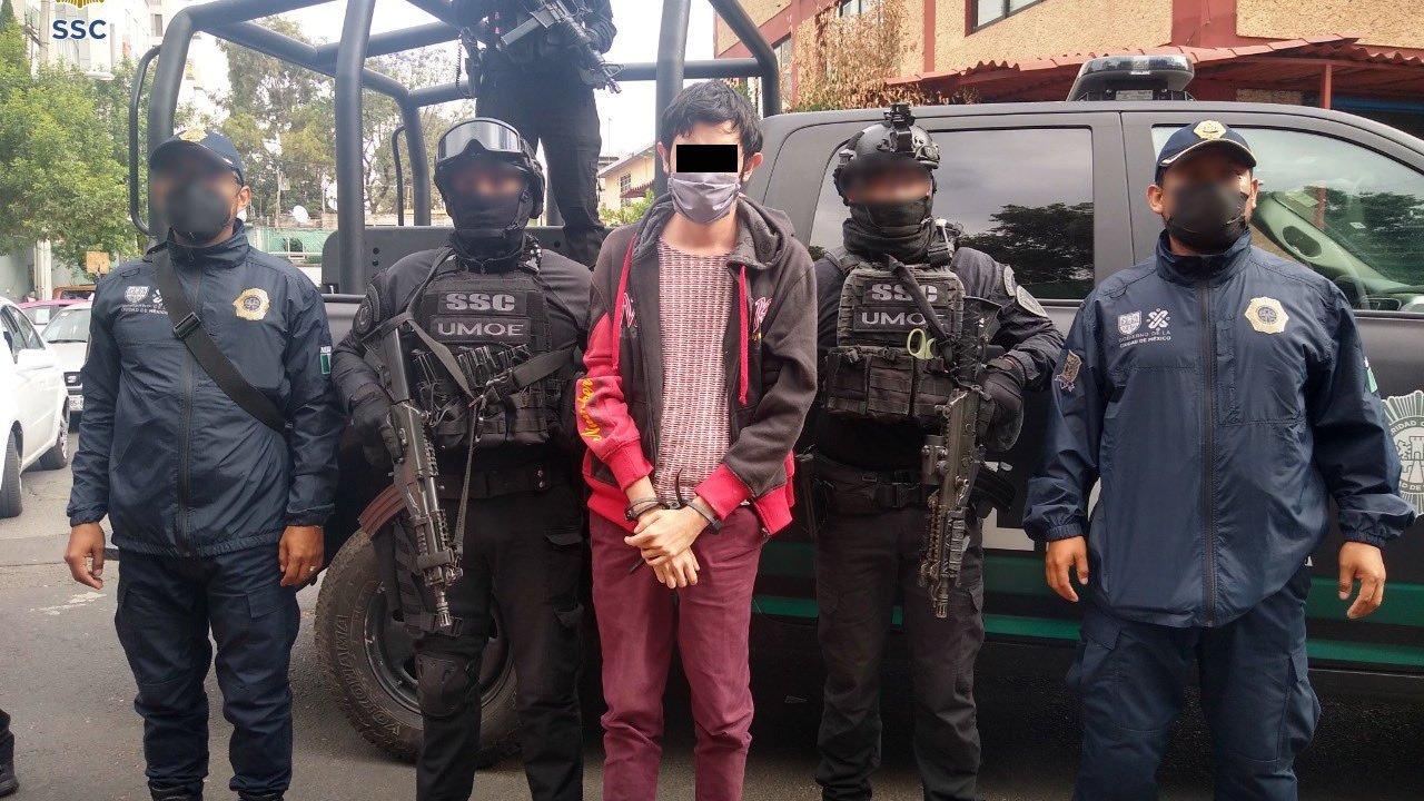 Primer detenido por Ley Olimpia en CDMX