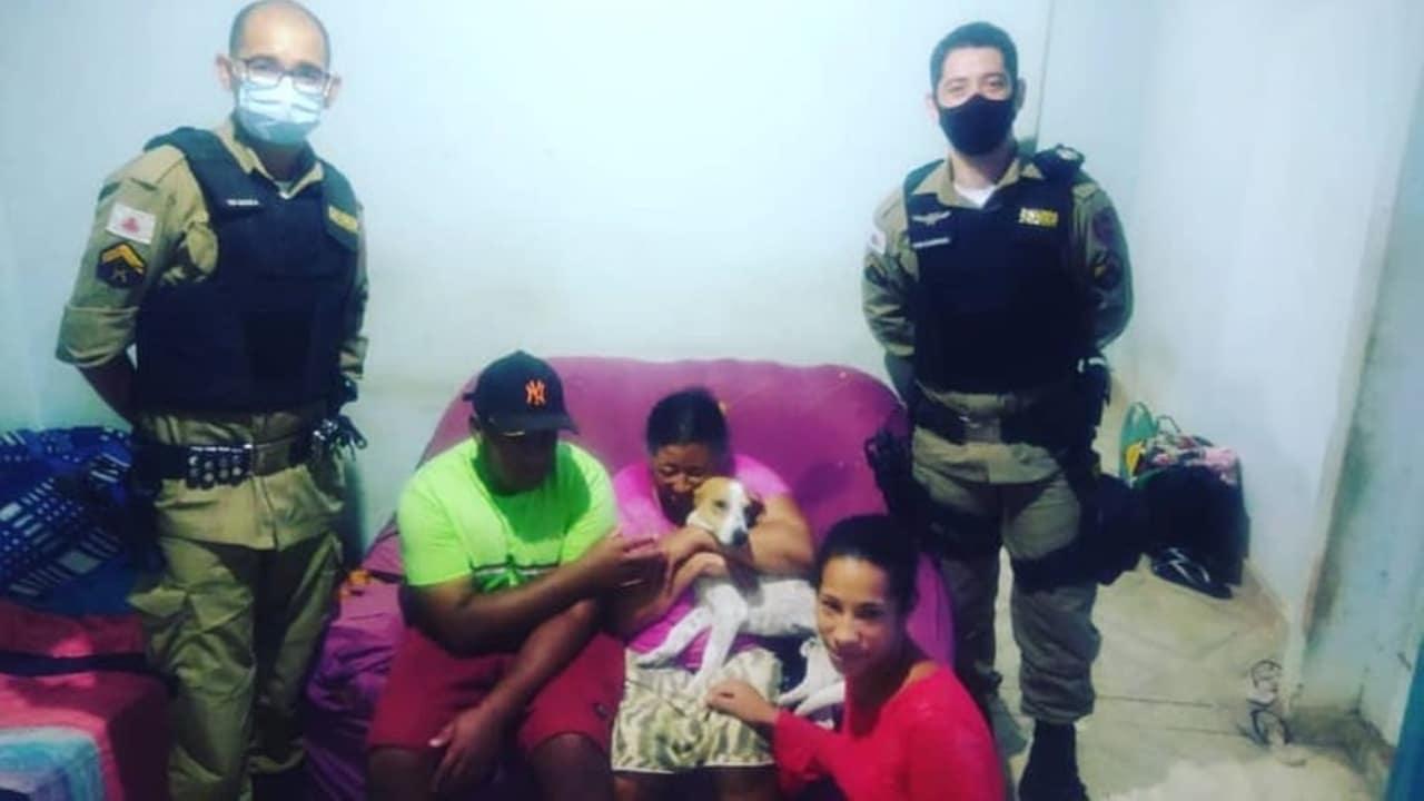 Perro defiende a su dueña en Brasil