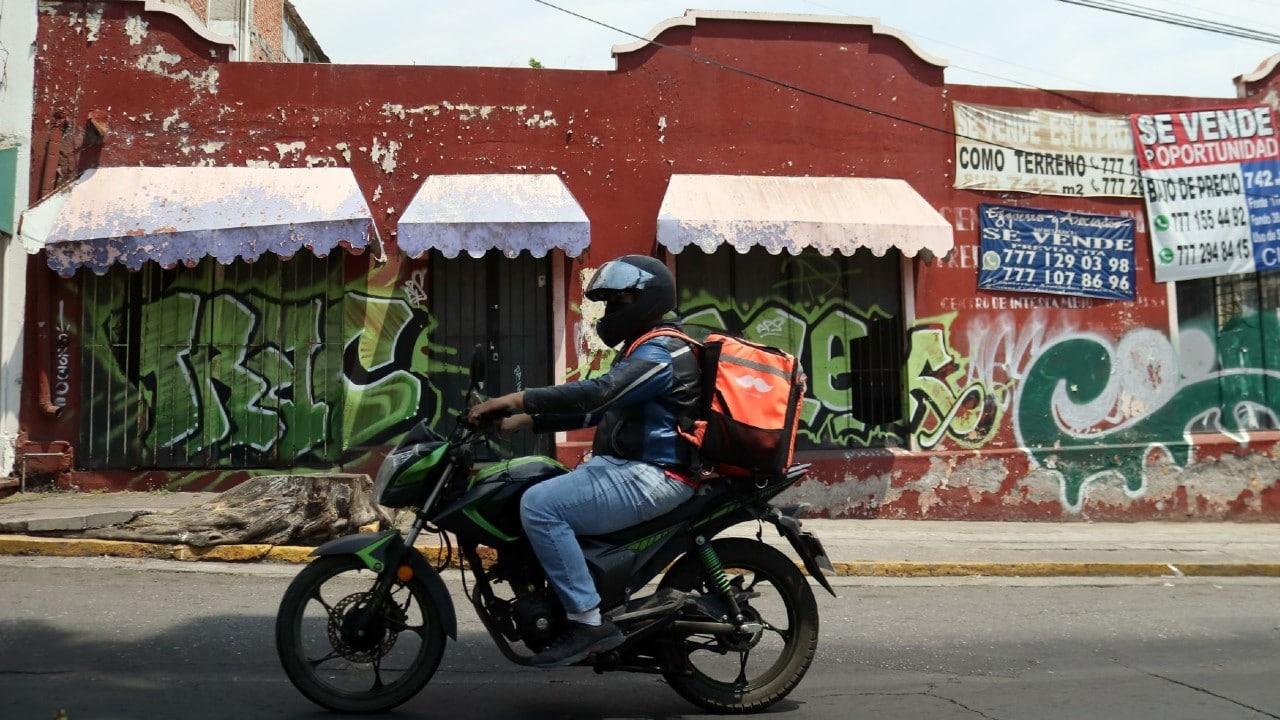 Repartidores Llevan Comida Familia Piñatas Durango