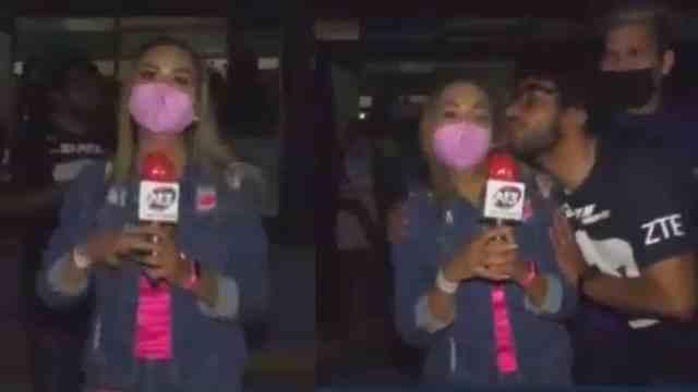 video reportera acosada aficionado Pumas