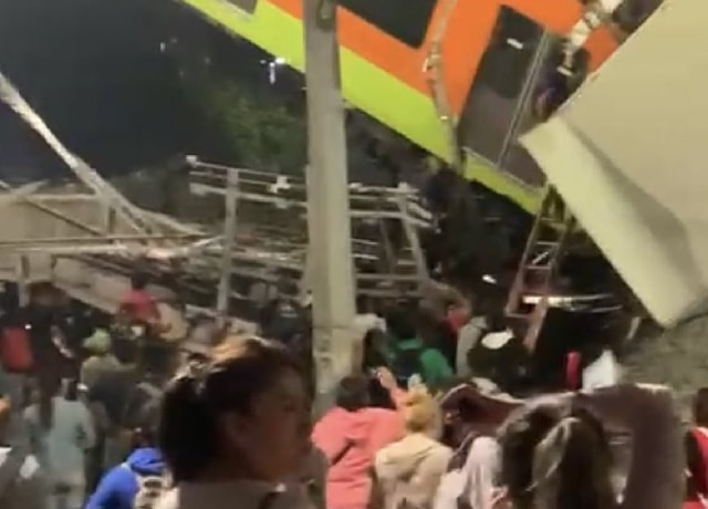 Personas desparecidas tras Accidente Línea 12 Metro