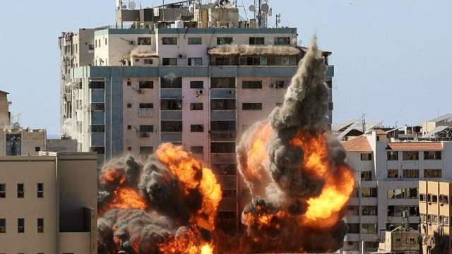 Oficinas AP Gaza Israel Estados Unidos