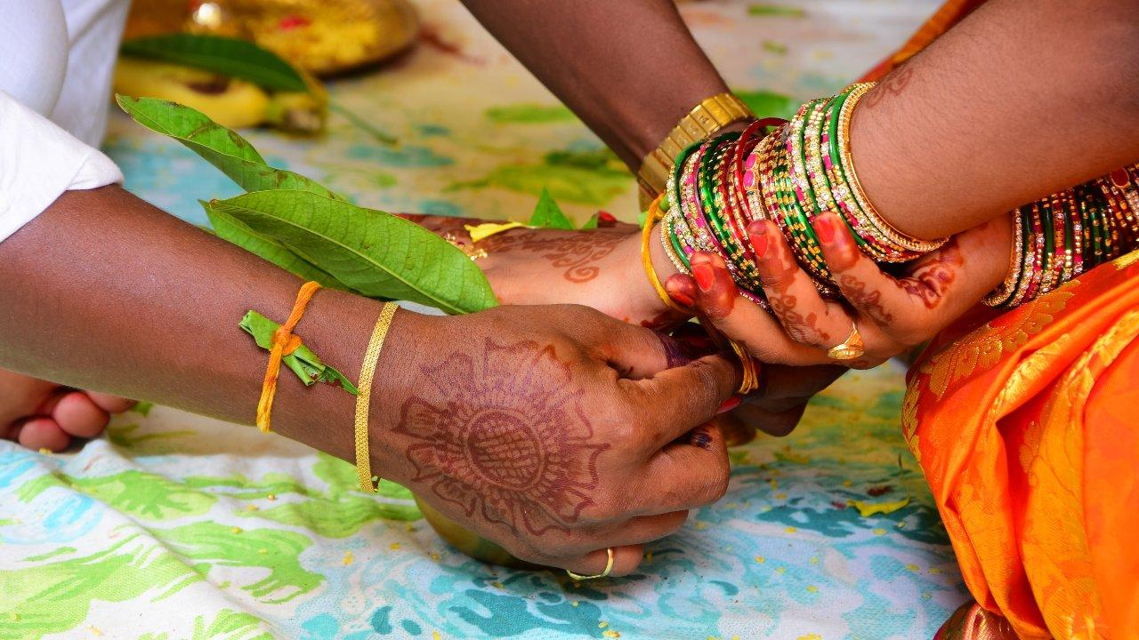 Unión entre mujer y amante India