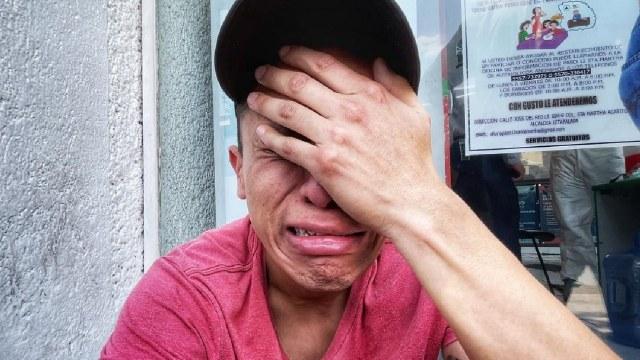 Novio de Nancy Lezama joven fallecida accidente Línea 12 del metro
