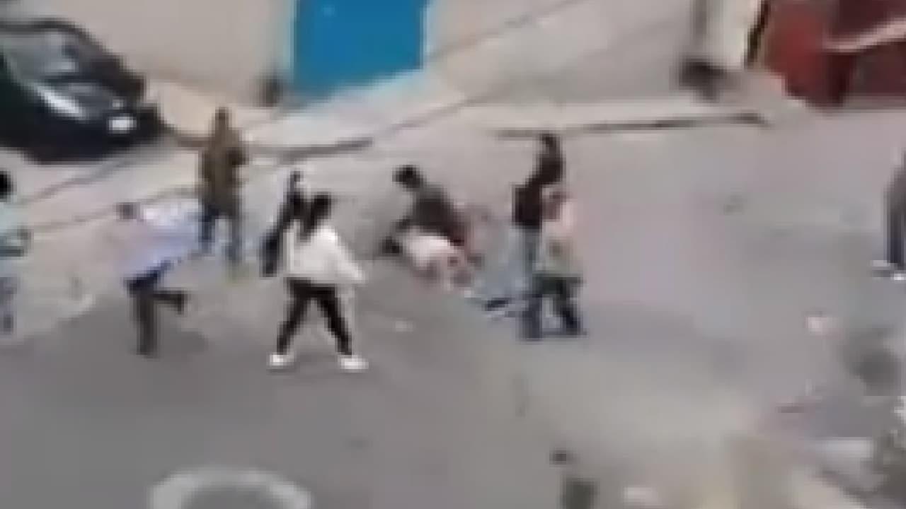 Familias pelean Machetazos en Naucalpan Estado de México