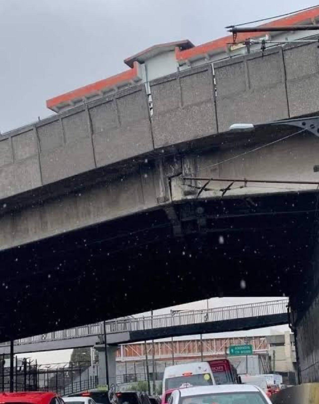 Estación Pantitlán dañada Metro CDMX