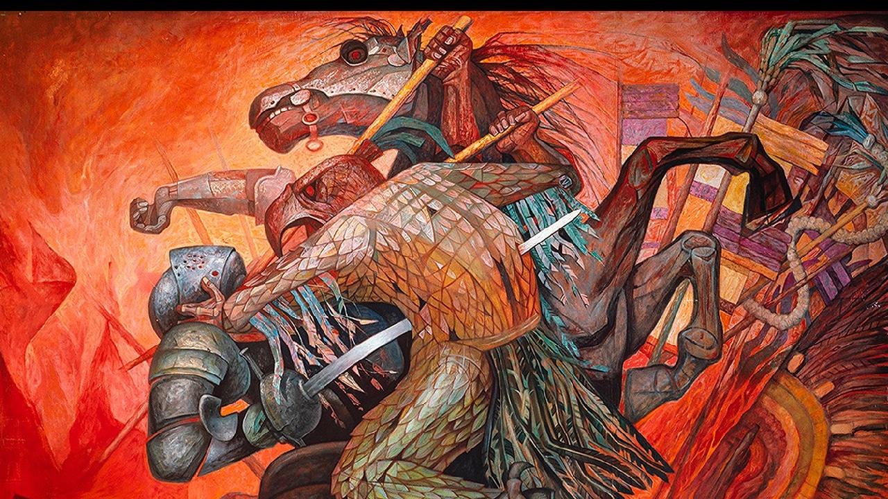 UNAM presenta caída de Tenochtiltlan en una serie fotográfica