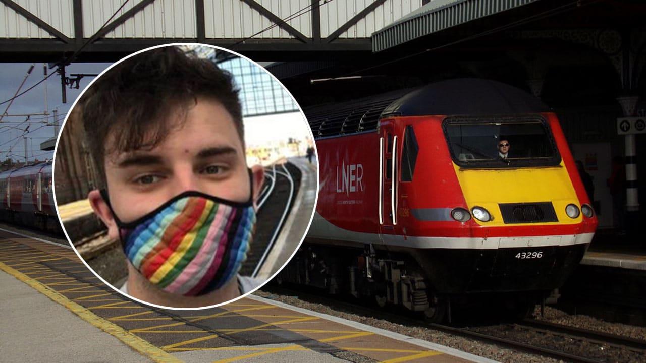 Tren Inglaterra disculpa lenguaje no inclusivo