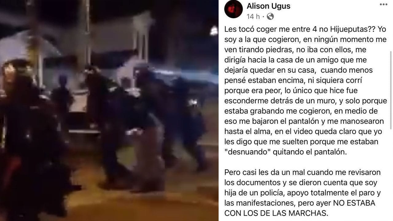 Menor suicidó violada policías Colombia