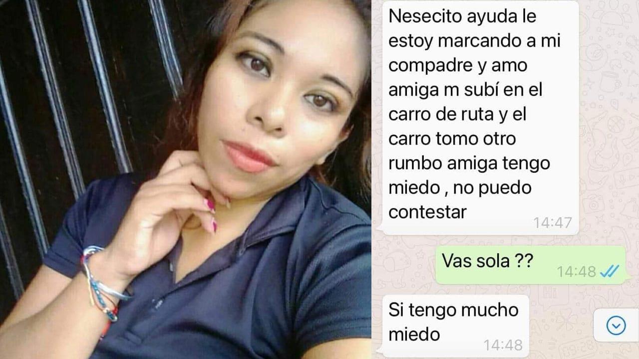 Mujer Desaparecida Altamira Tamaulipas
