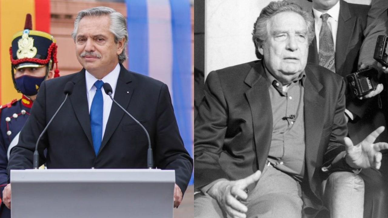 Alberto Fernandez cita a Octavio Paz