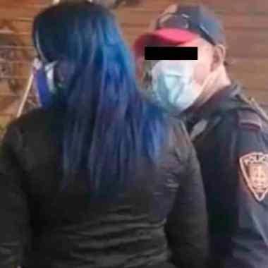Policía fue grabado haciendo actos sexuales en el Metro de CDMX