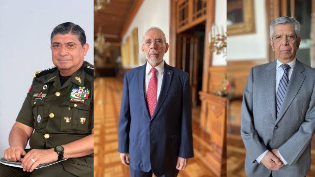 Tres secretarios de AMLO reciben pensión de adultos mayores