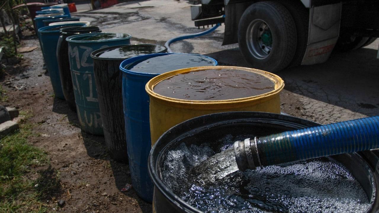 Reducción agua CDMX Edomex suministro