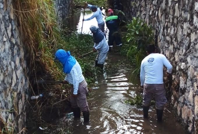 Personas Succionadas Alcantarilla Inundaciones Chiapas