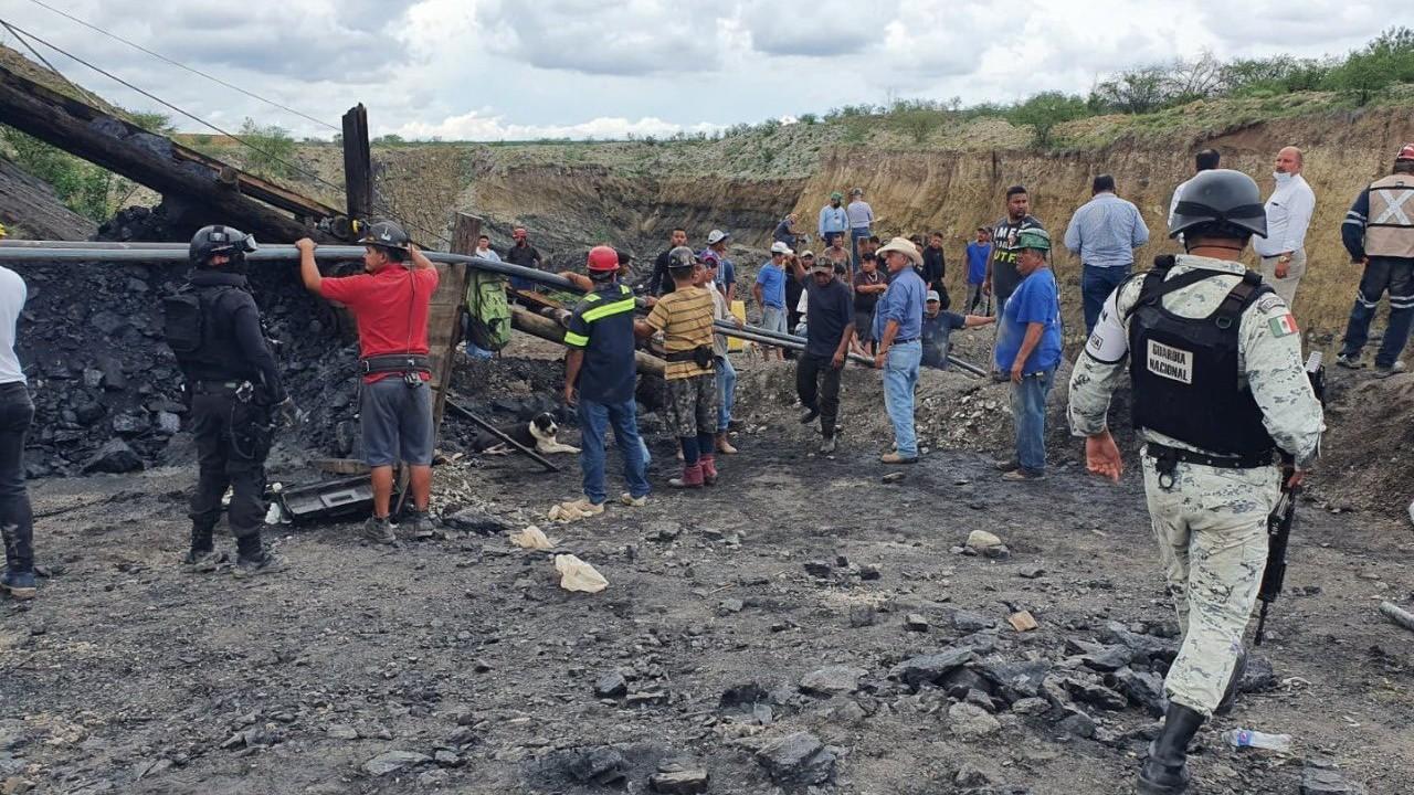 Colapsa mina Muzquiz Coahuila