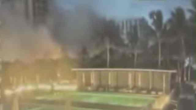 Derrumbe Edificio Miami Video Heridos