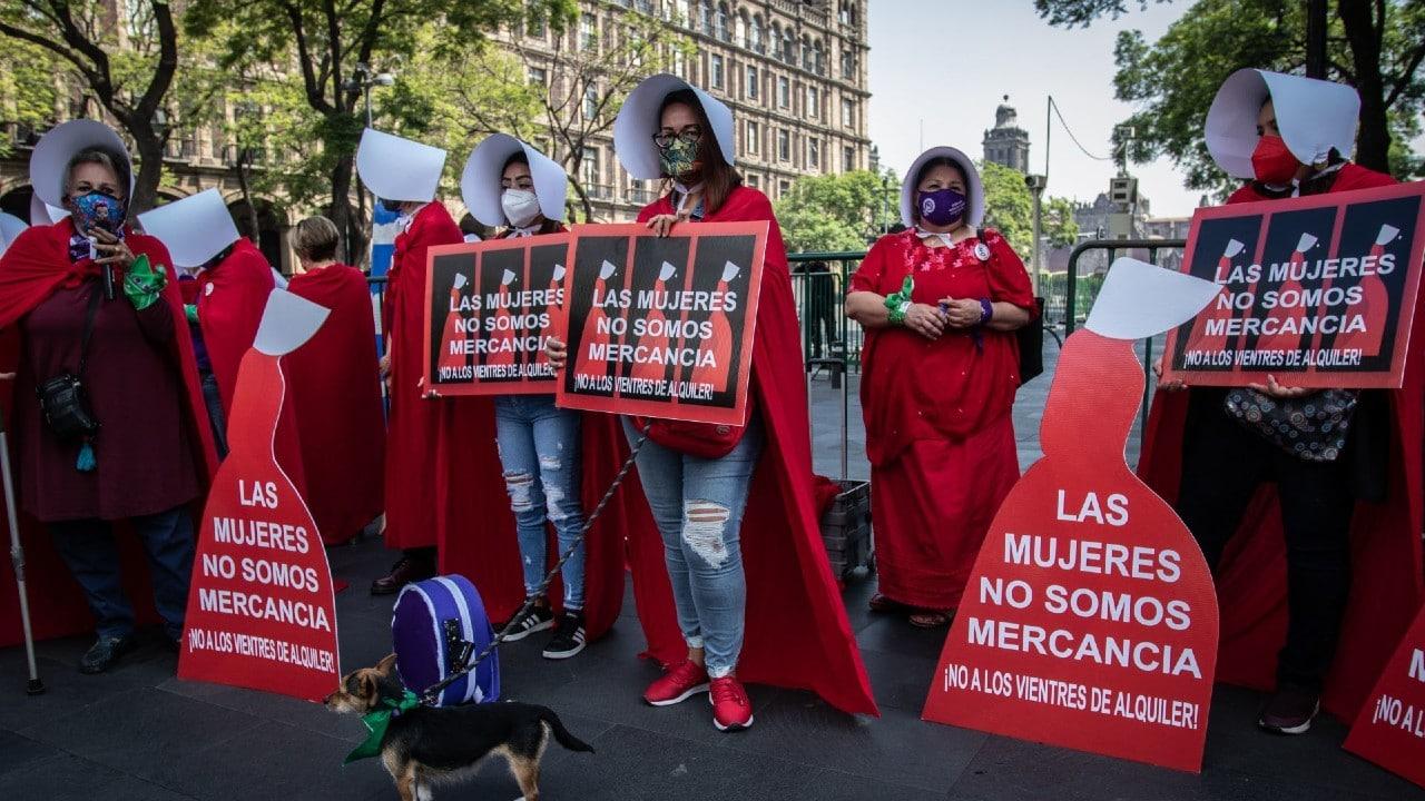 Feministas SCJN vientres alquiler CDMX